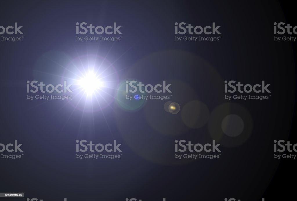 Bright star royalty-free stock photo