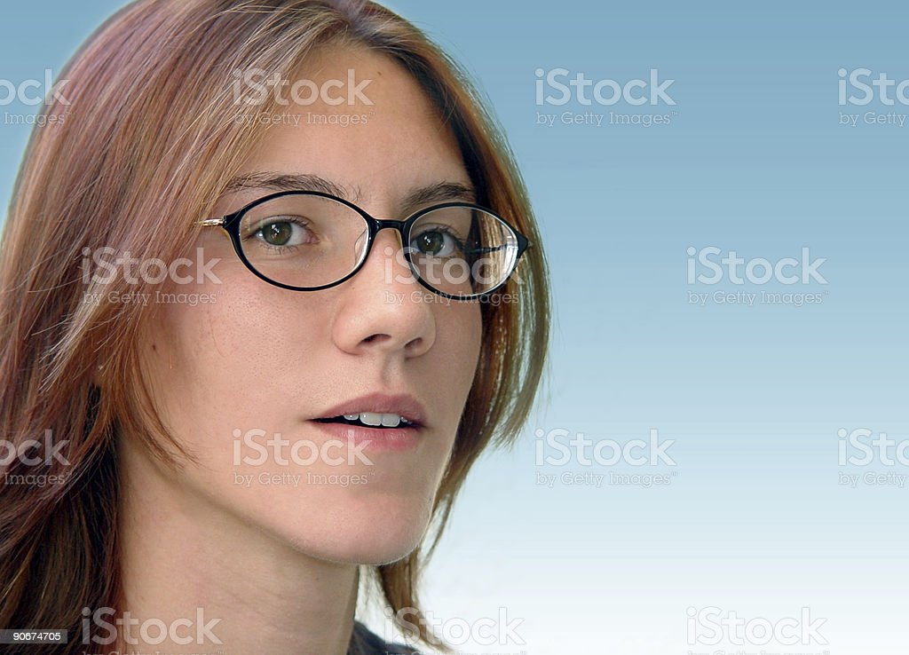 Bright student royalty-free stock photo