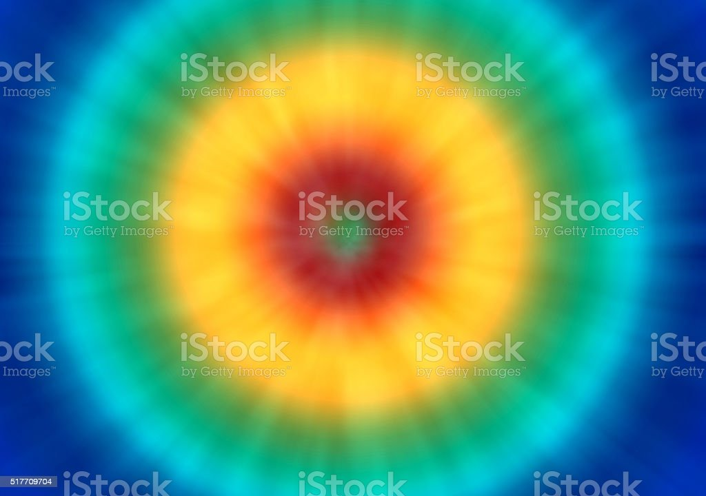 bright tie dye retro background stock photo