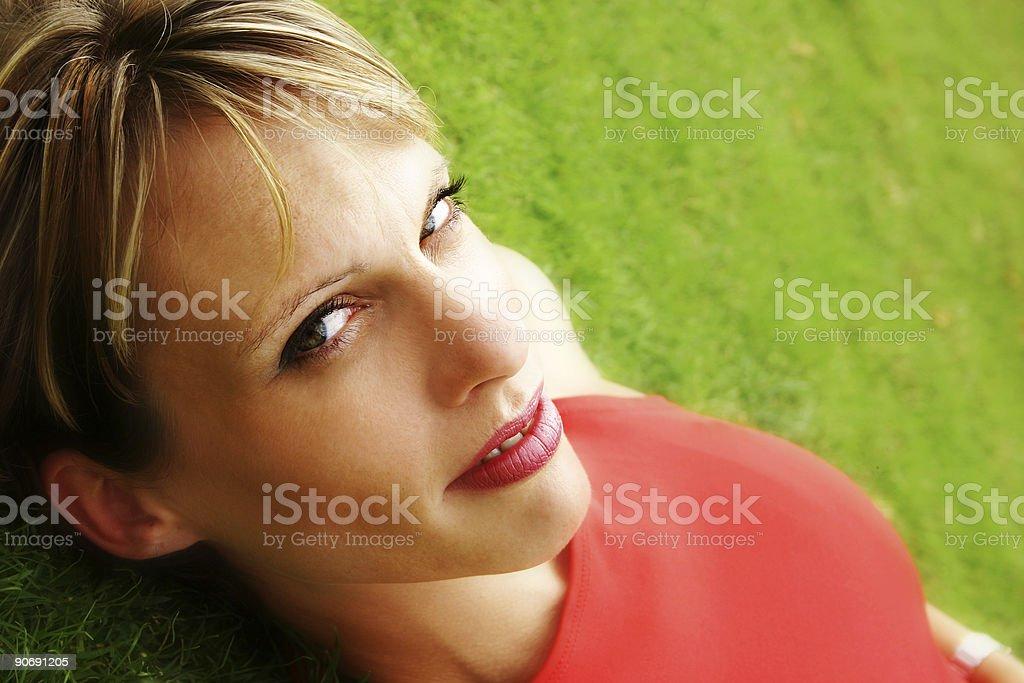 Bright Woman royalty-free stock photo