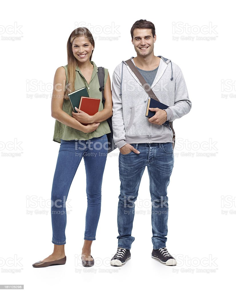 Bright young minds royalty-free stock photo