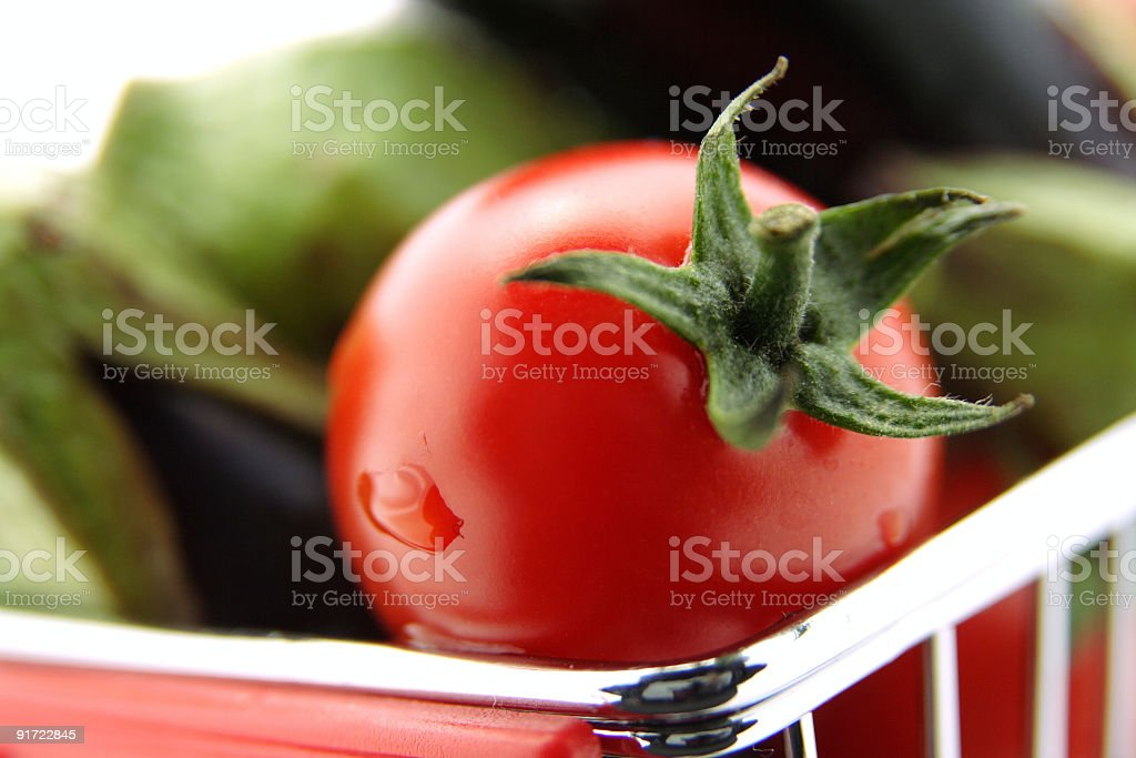 Brightened Tomato royalty-free stock photo