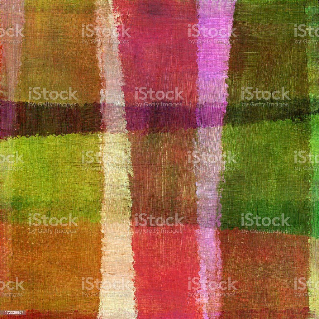 Brightly Colored Abstract Pattern royalty-free stock photo