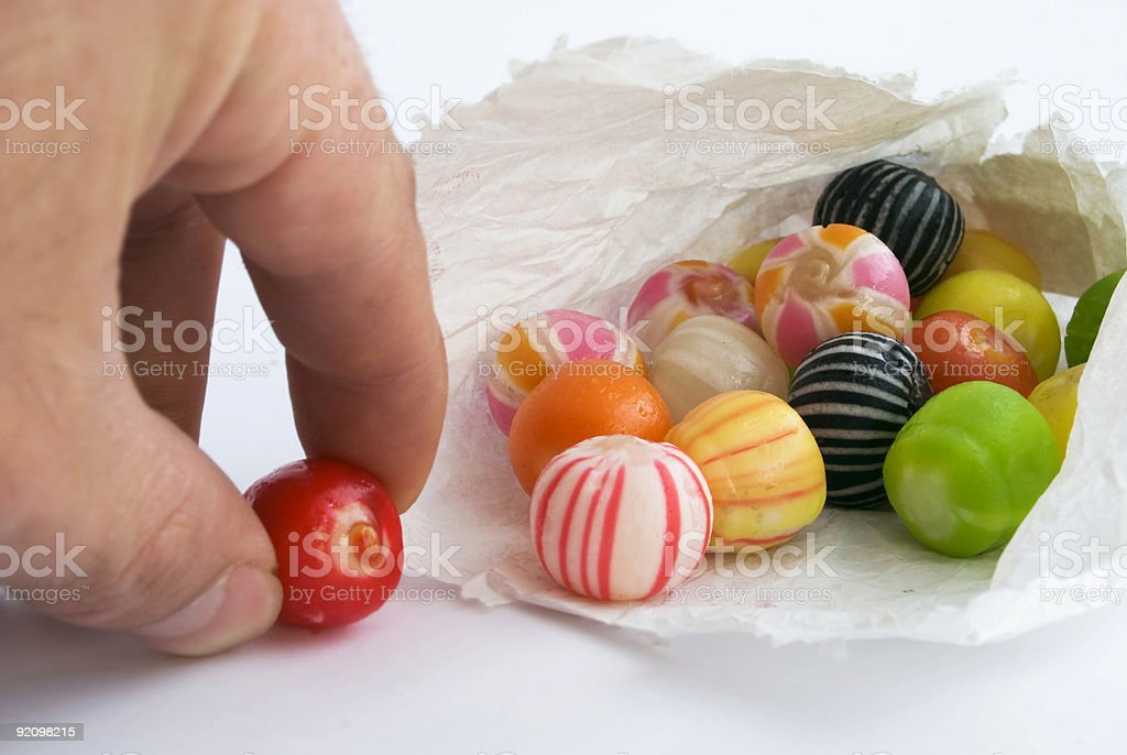 Brightly colored sweets royalty-free stock photo