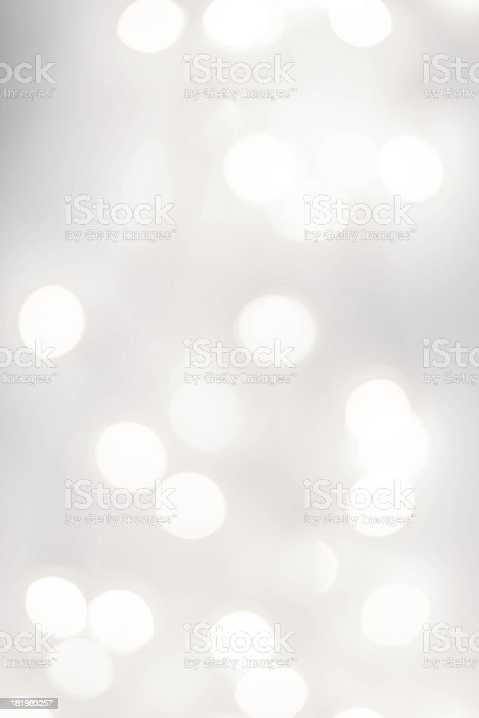 A brightly lit set of lights blurred out stock photo