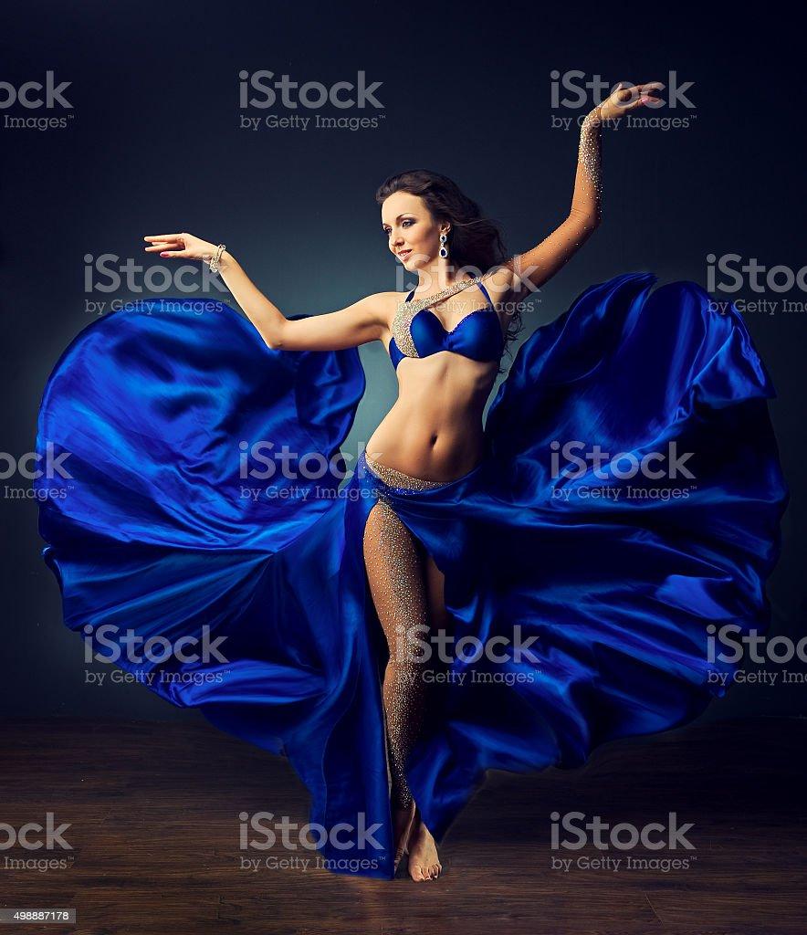 Brightness of dance. stock photo