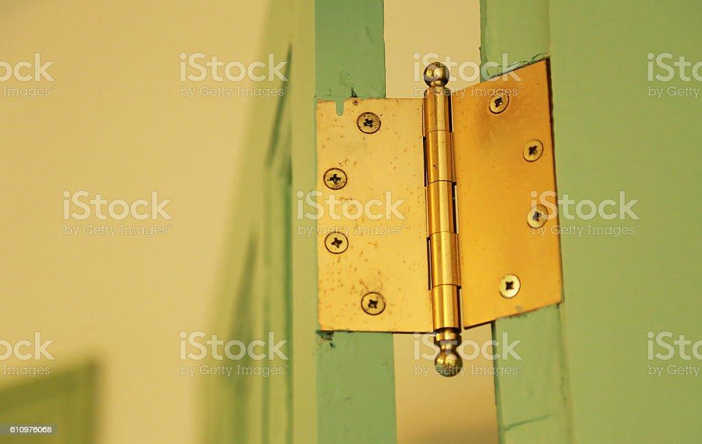 Brightness of the hinge foto de stock libre de derechos