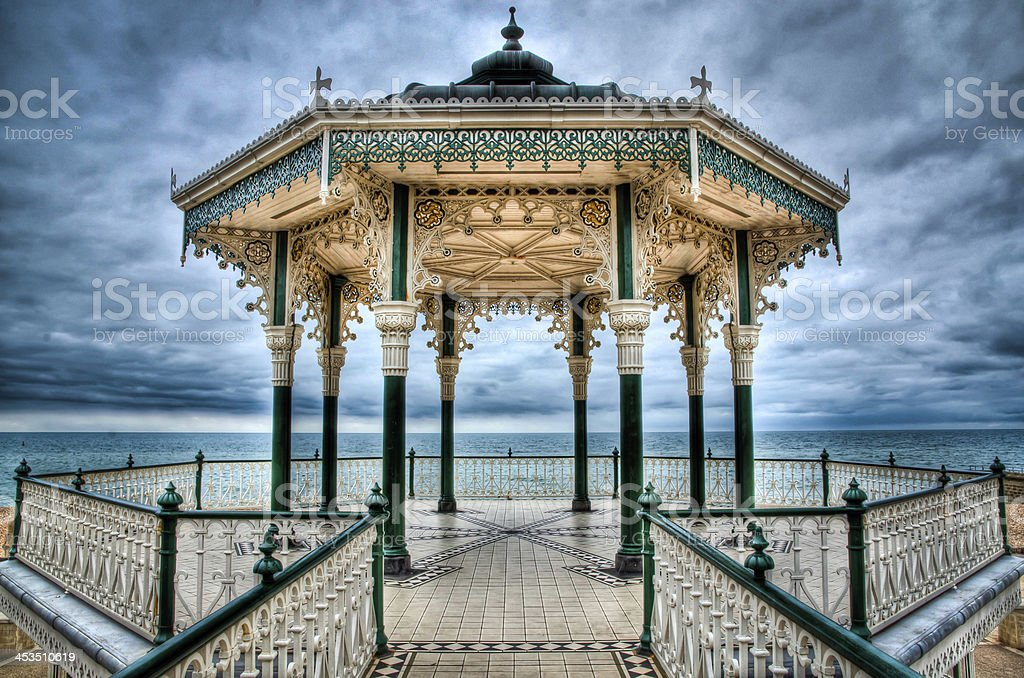 Brighton Bandstand royalty-free stock photo