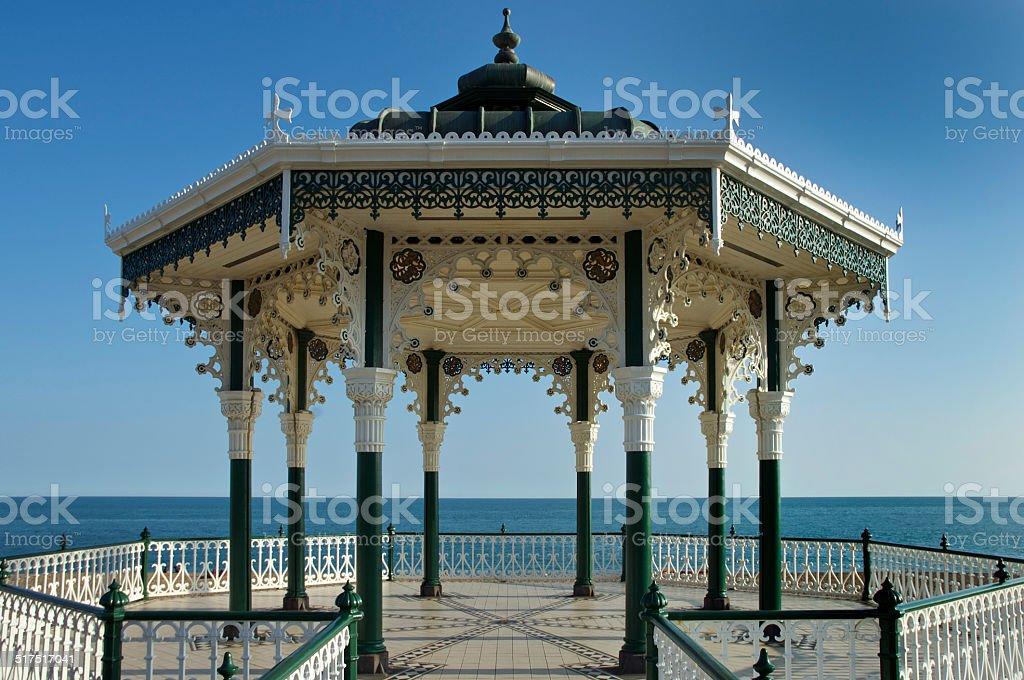 Brighton Bandstand stock photo