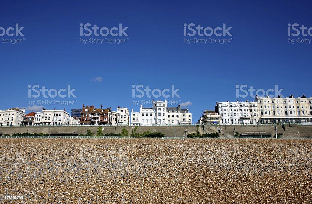 brighton beach royalty-free stock photo