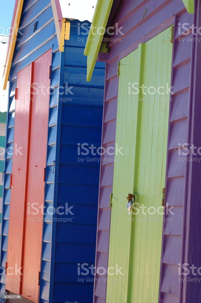 Brighton Beach. royalty-free stock photo