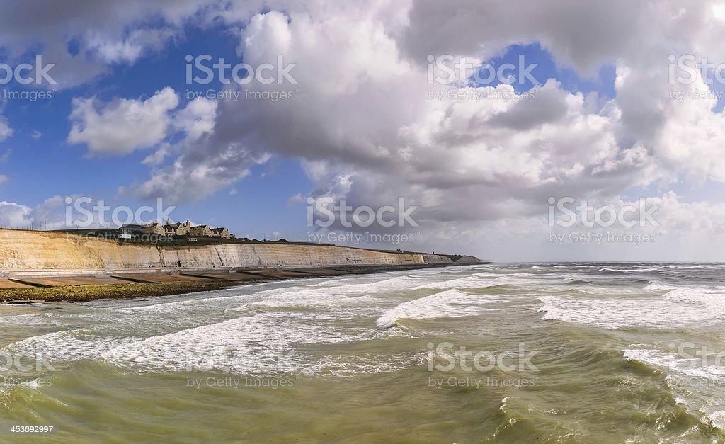 Brighton coast, Great Britain royalty-free stock photo
