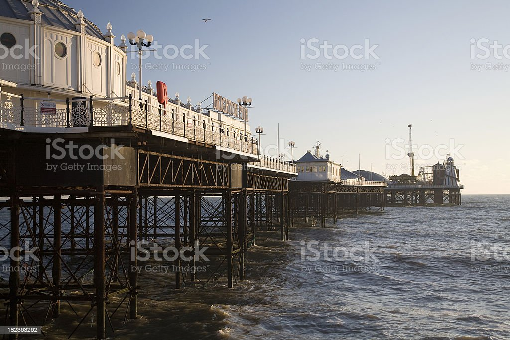 Brighton East Pier stock photo