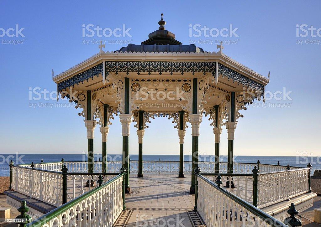 Brighton & Hove Bandstand stock photo