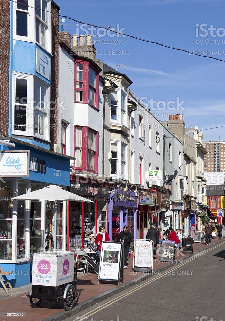 Brighton North Laines, UK stock photo