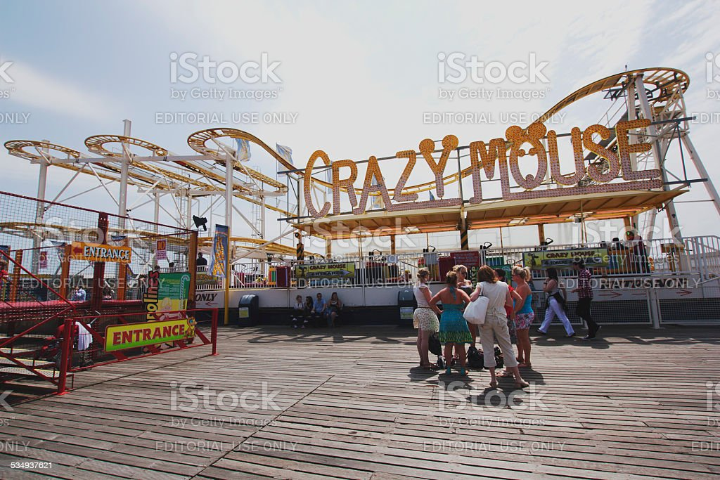 Brighton Pier, England - UK stock photo