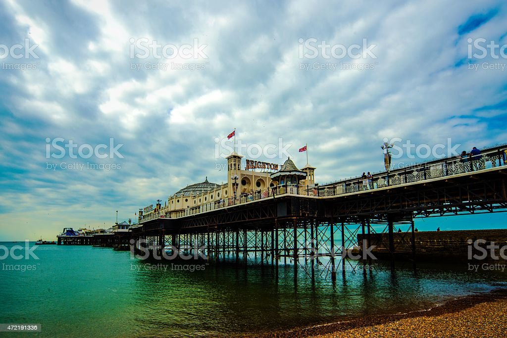 Brighton Pier UK stock photo