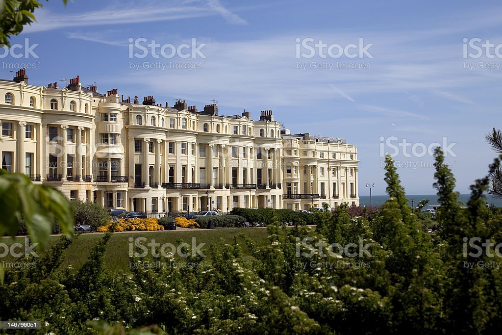 Brighton Regency Square stock photo