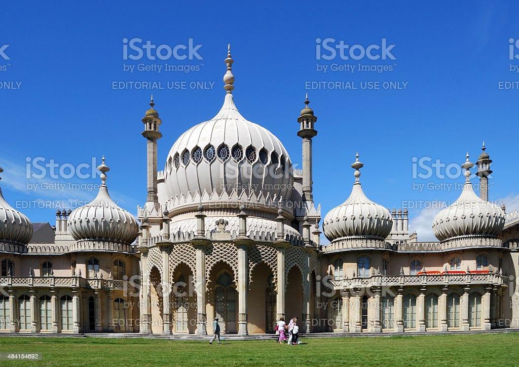 Brighton Royal Pavilion. stock photo