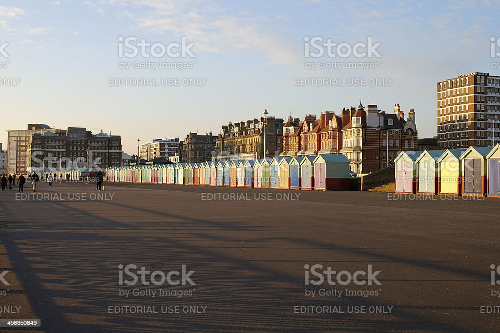 Brighton Seafront. Sussex. England royalty-free stock photo
