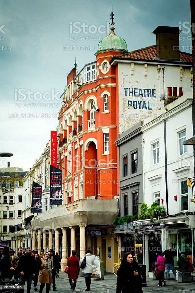Brighton Theatre Royal stock photo