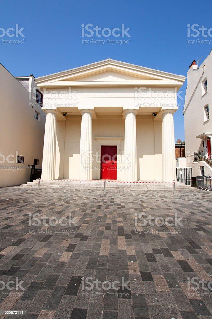 Brighton Unitarian Church, UK stock photo