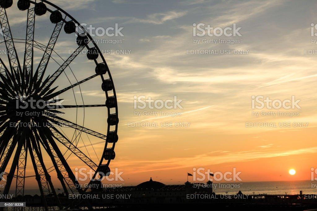 Brighton Wheel also called Wheel of Excellence stock photo
