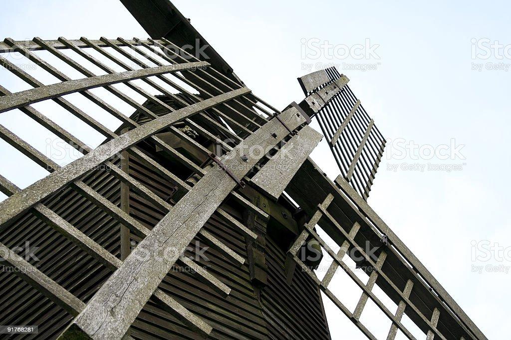 brill windmill royalty-free stock photo