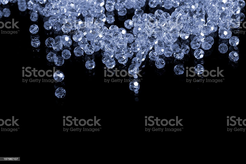 brilliant gems isolated on black stock photo