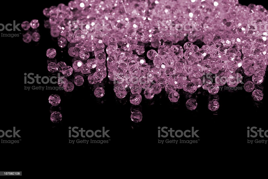 brilliant gems, isolated on black royalty-free stock photo
