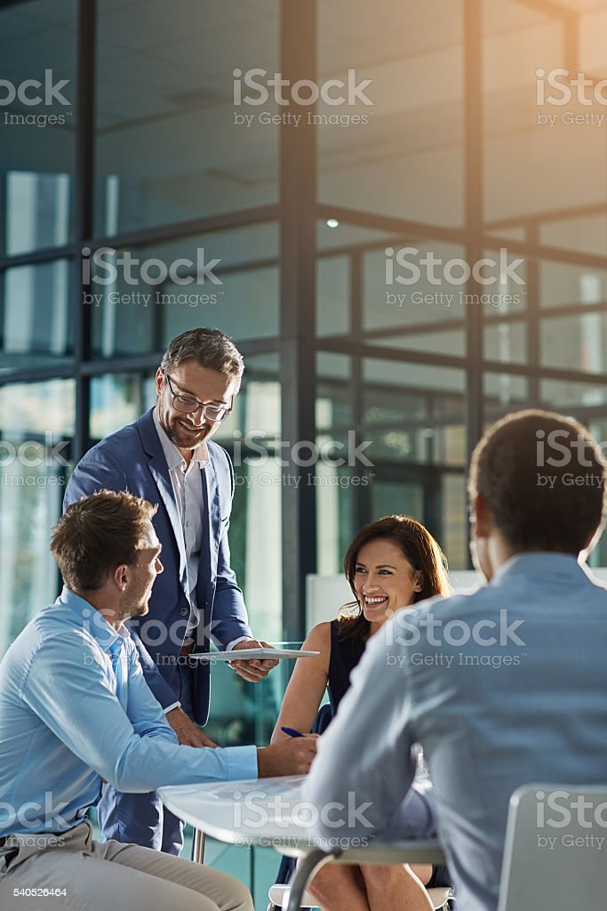 Brilliant ideas in the making stock photo