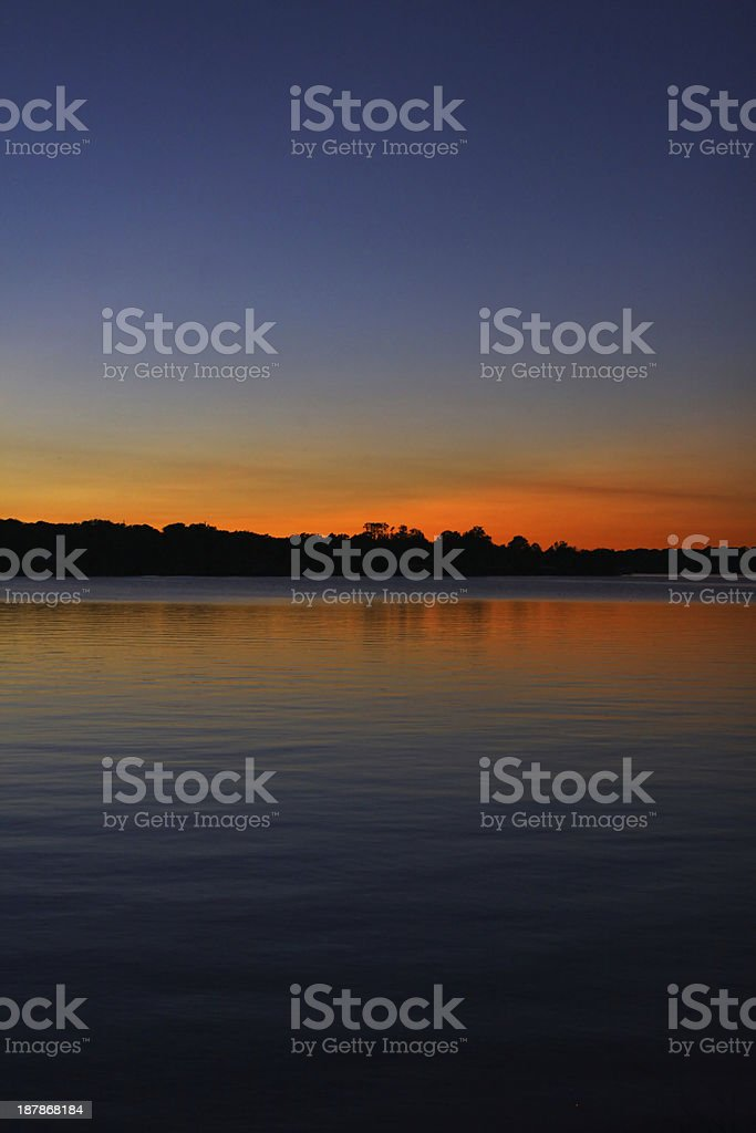 Brilliant Sunset stock photo