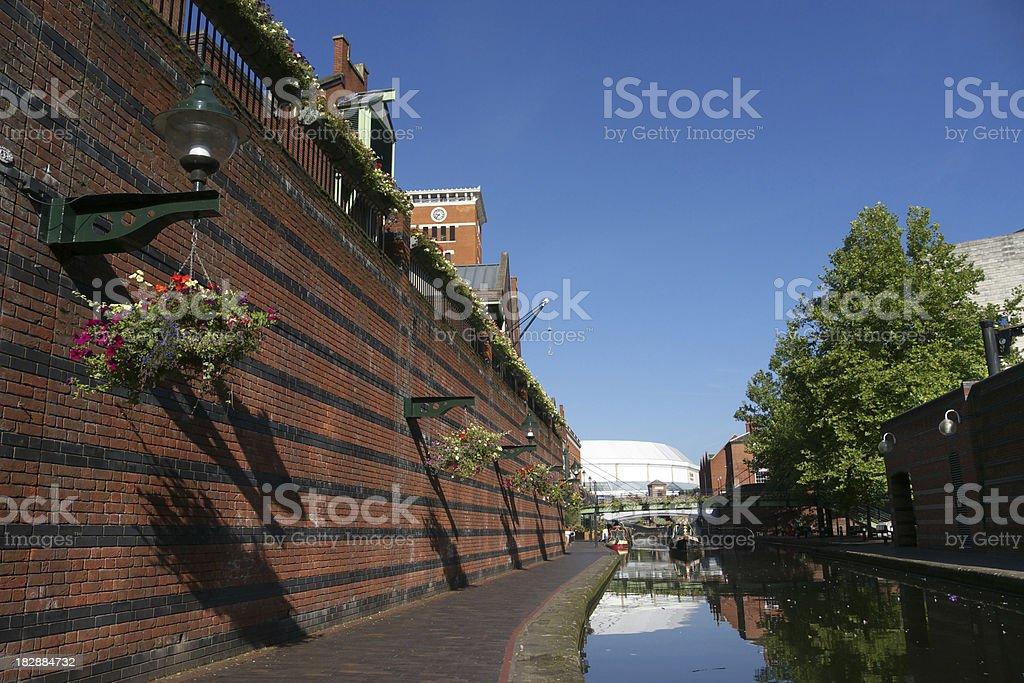 Brindley Place, Birmingham royalty-free stock photo