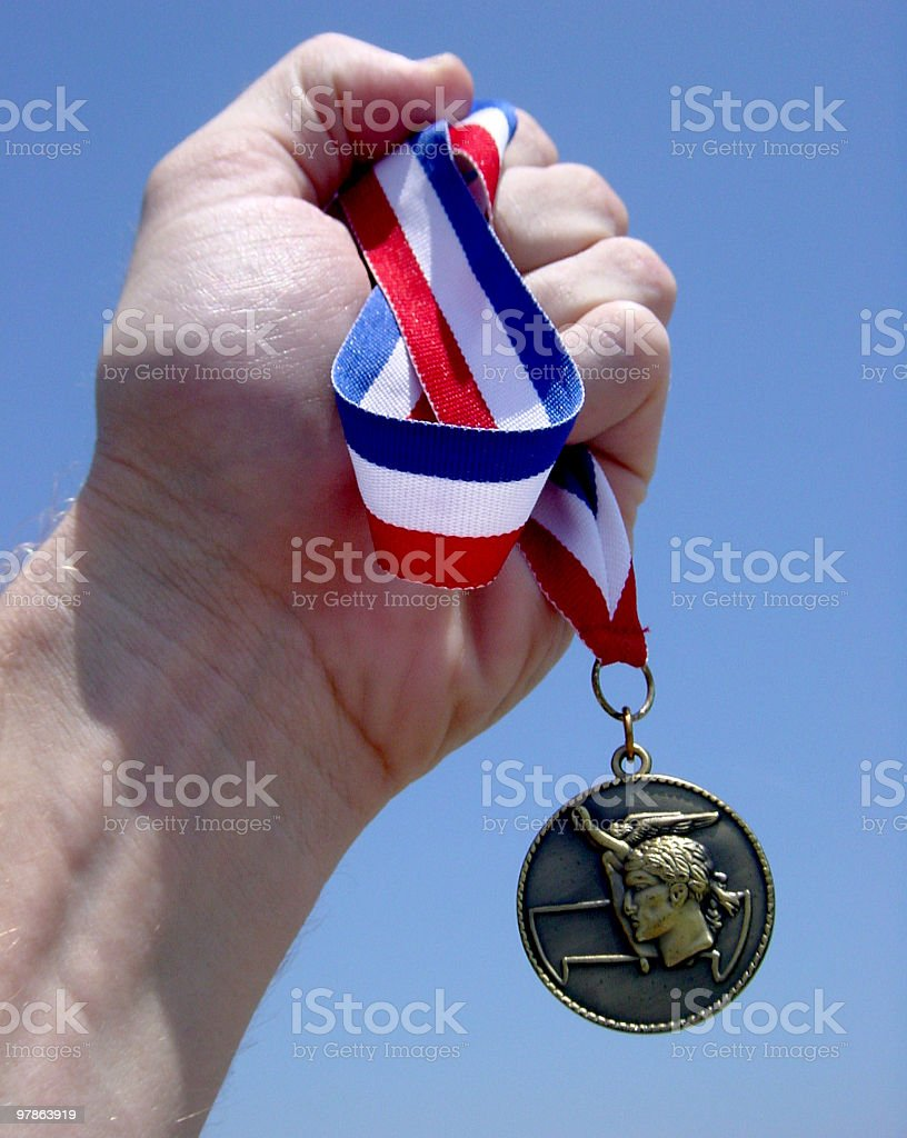 bring home gold 01 royalty-free stock photo