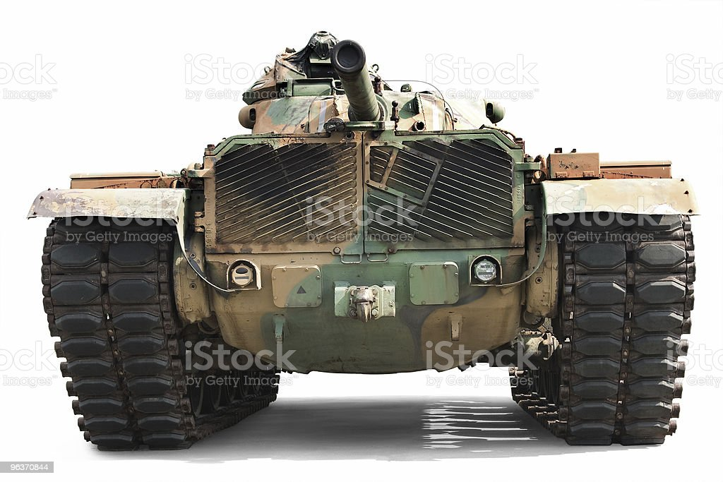 Bring in a Tank stock photo