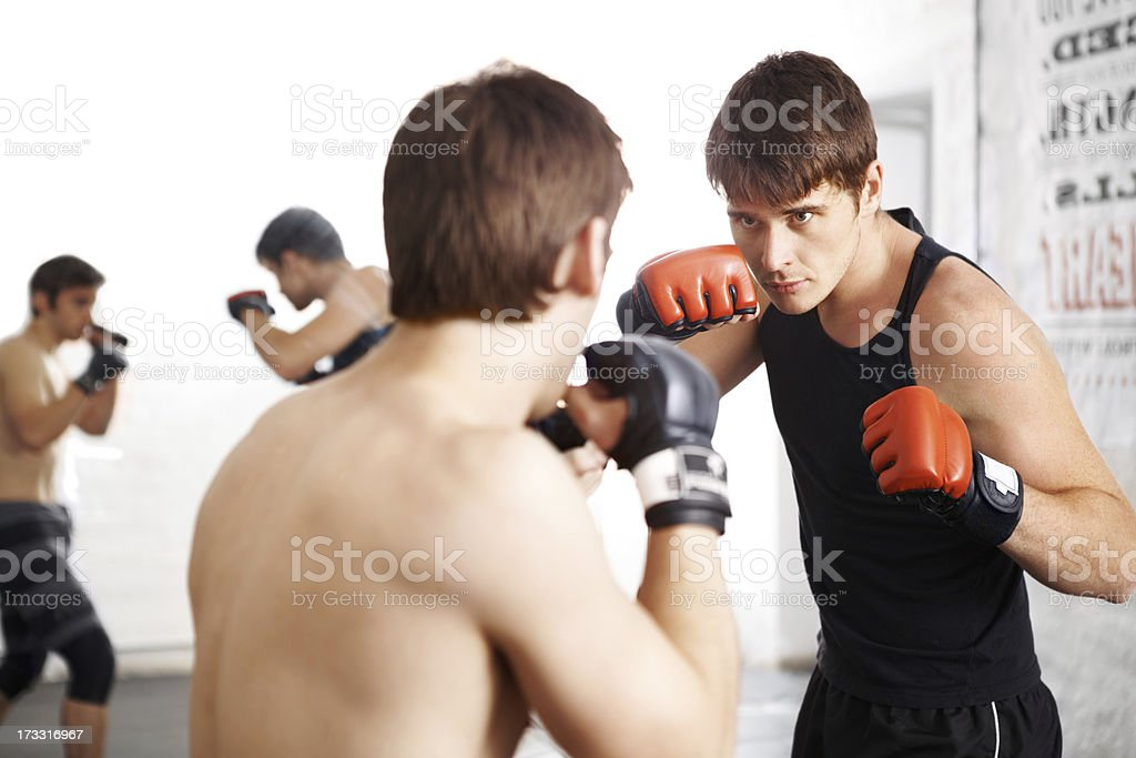 Bring it on! royalty-free stock photo