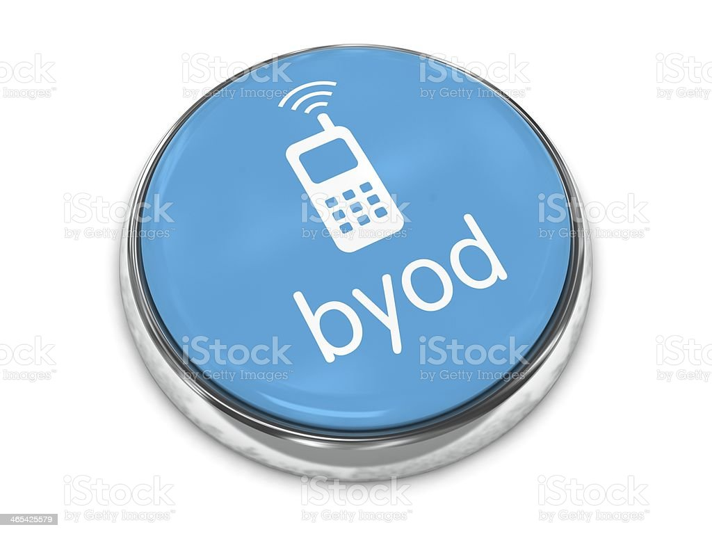 Bring your own device BYOD stock photo