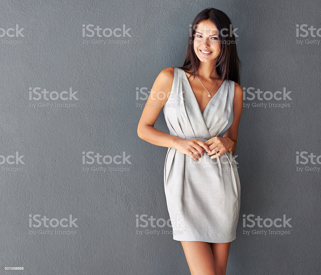 Bringing a bit of sexy to business stock photo