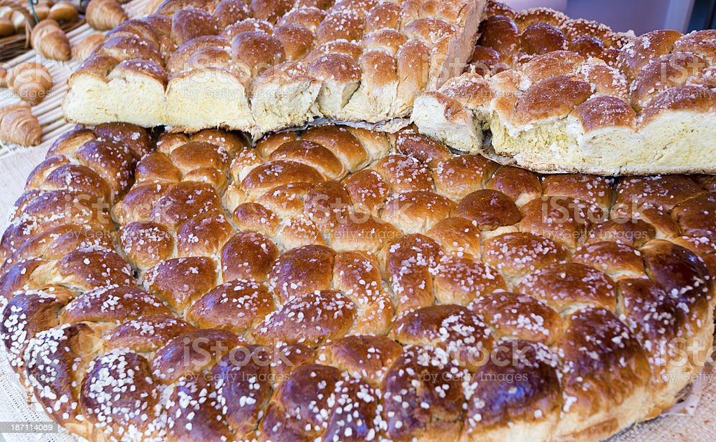 Brioche being sold at a carnival -XXXL royalty-free stock photo