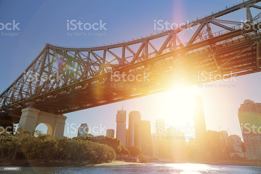 Brisbane Afternoon stock photo