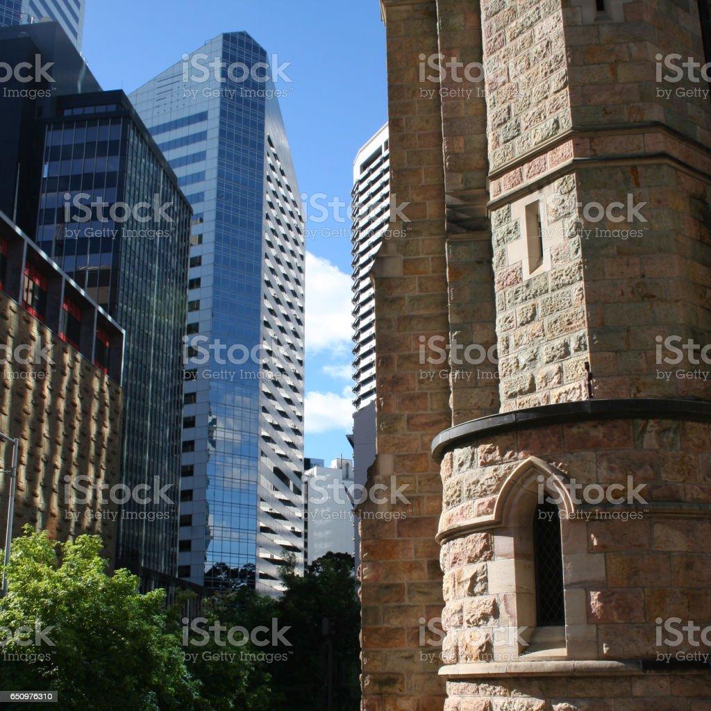 Brisbane Architecture stock photo