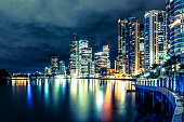 Brisbane at night, Australia