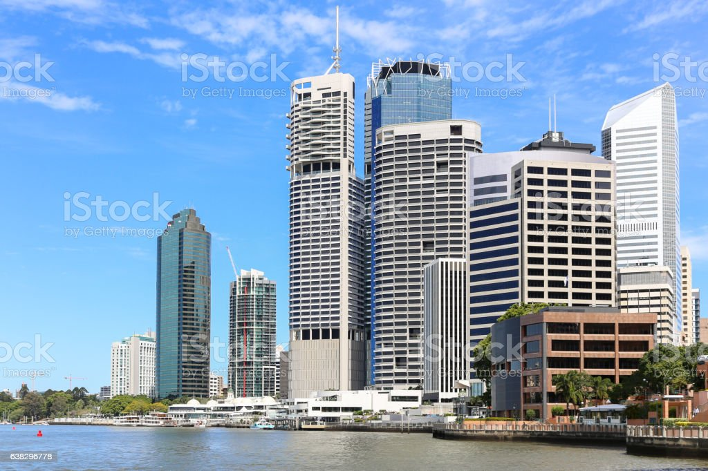 Brisbane city Skyline stock photo