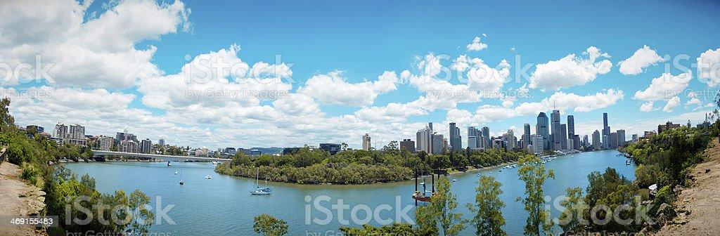 Brisbane City - XXXL stock photo