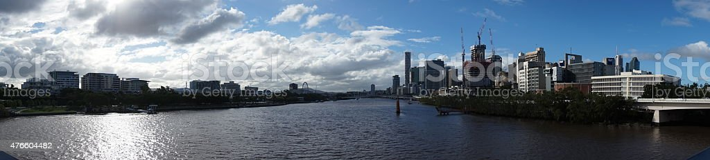Brisbane Cityscape stock photo