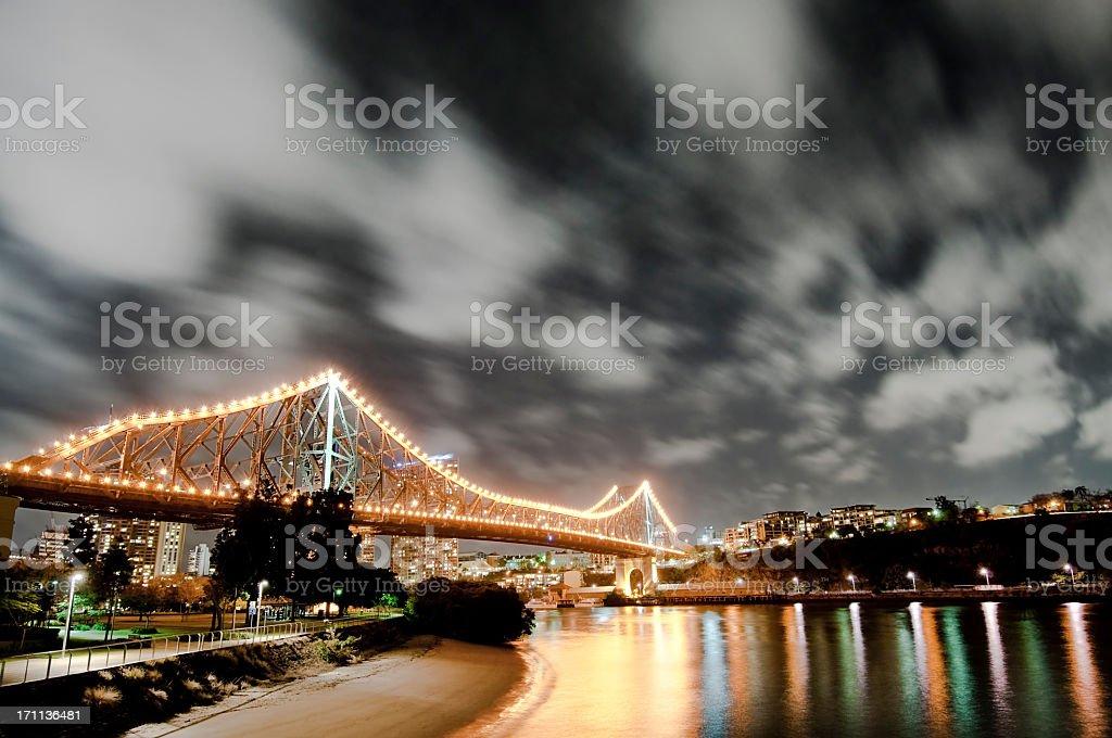 Brisbane's Story Bridge stock photo