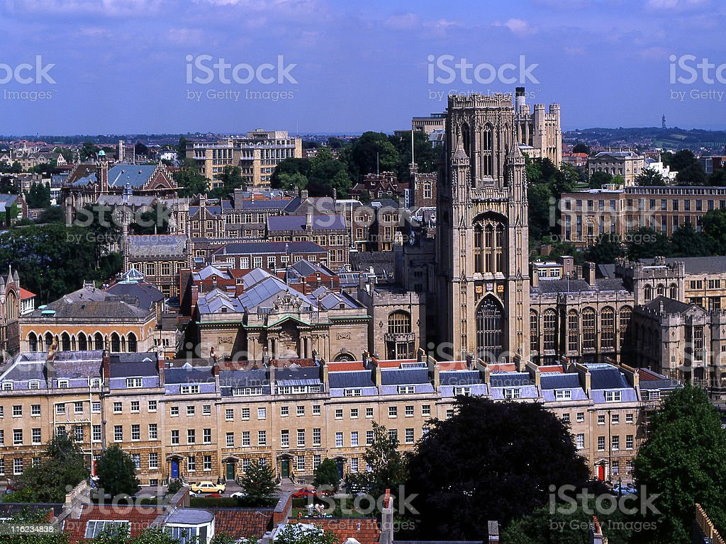 Bristol City Centre, Avon, England stock photo