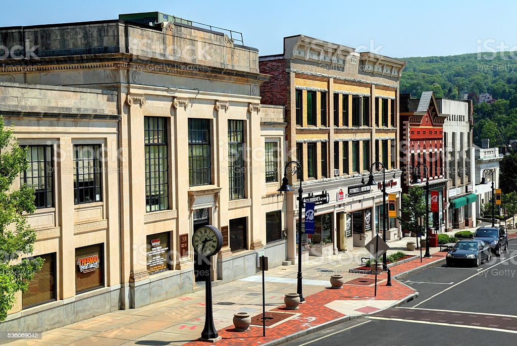 Bristol, Connecticut stock photo