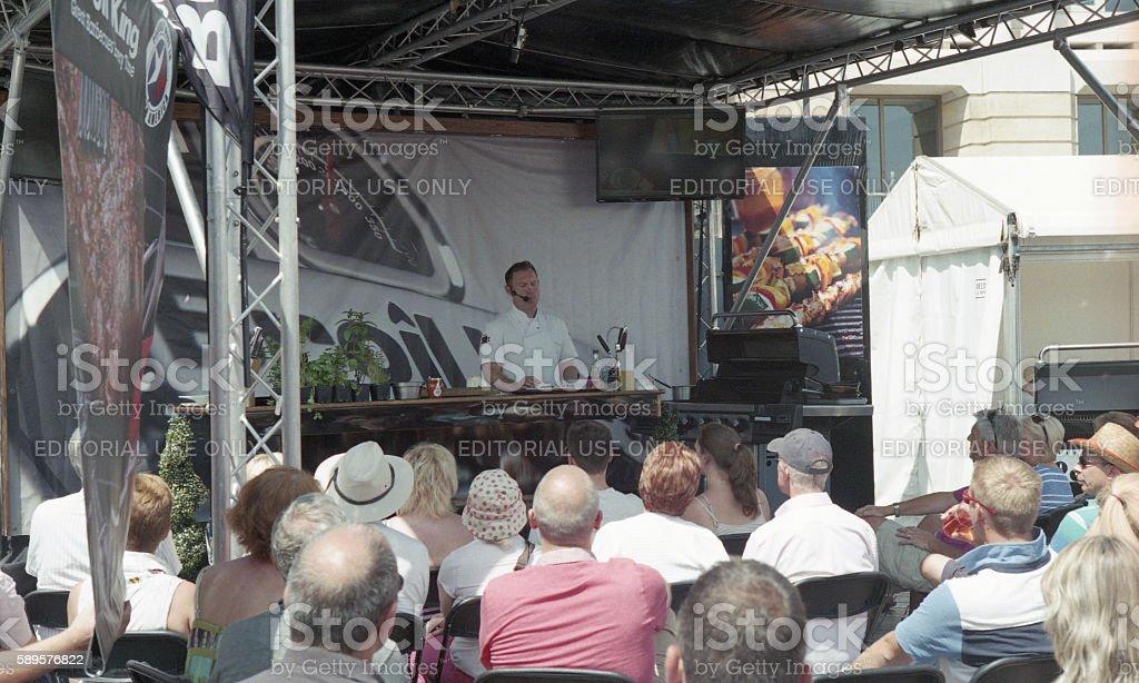 Bristol Foodies Festival stock photo