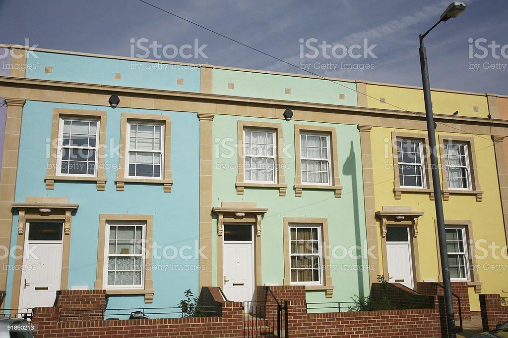 Bristol Homes stock photo